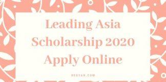 Leading Asia Scholarship 2020