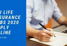 SBI Life Insurance Jobs 2020