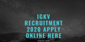 IGKV Recruitment 2020