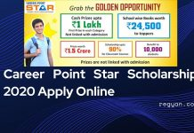 Career Point Star Scholarship 2020